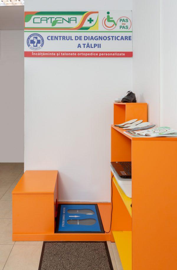 Sustinatori plantari personalizati - amprentare computerizata