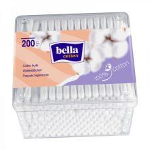 Betisoare igienice cutie de plastic patrata - 200