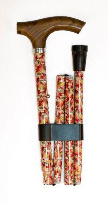 Baston pliabil cu imprimeu floral