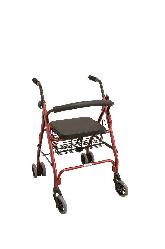 Cadru ortopedic cu 4 roti (rolator)