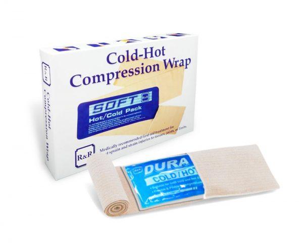 Compresa gel rece/cald pentru glezna