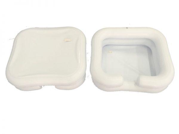 Dispozitiv gonflabil pentru igiena parului