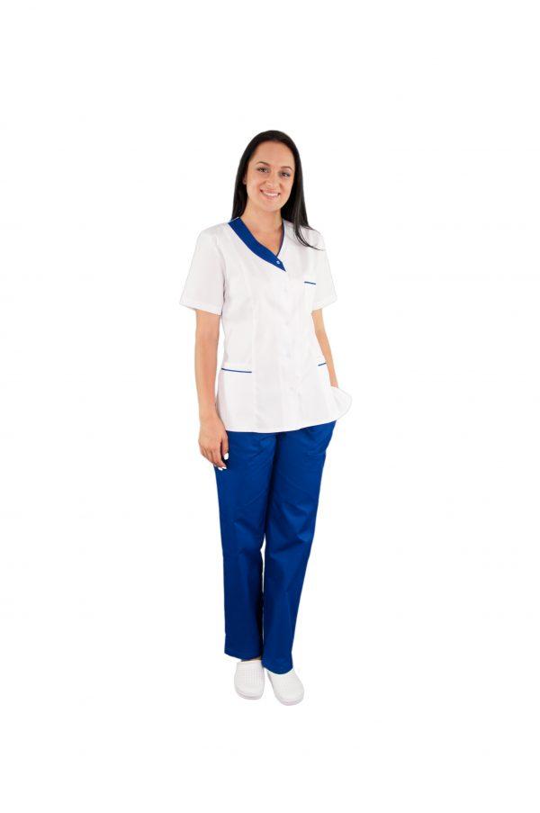 Pantalon unisex albastru