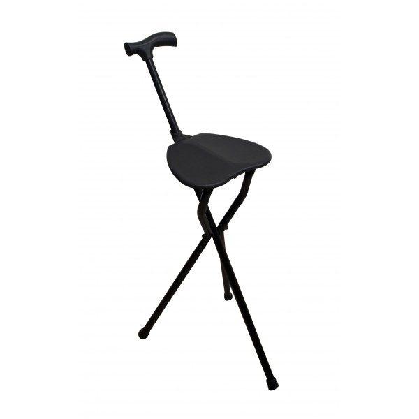 Baston ortopedic cu scaunel
