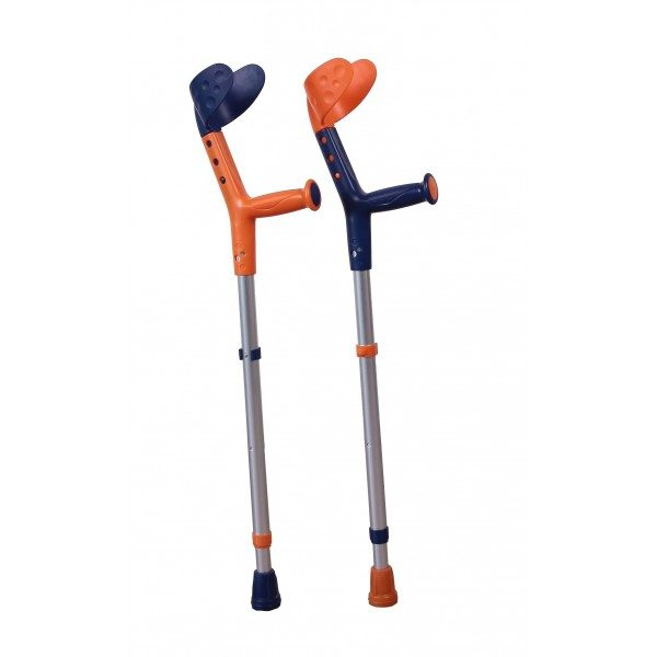 Carje pentru copii, Tiki orange/bleu
