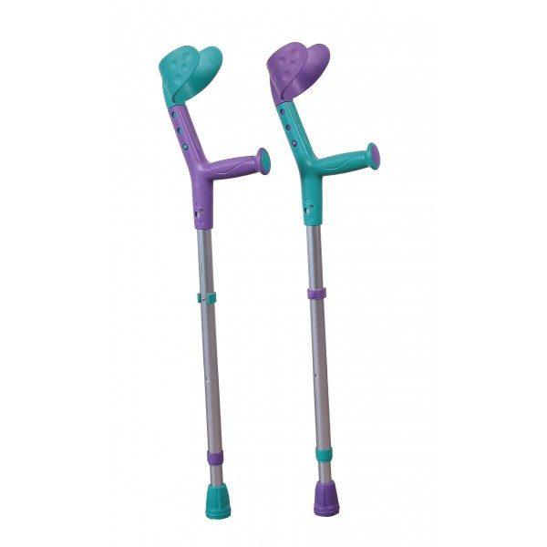Carje pentru copii, Tiki turqoise/violet
