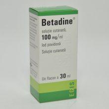 Betadine solutie externa 10% x 30 ml