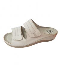 Sandale ortopedice pentru femei - culoare bej