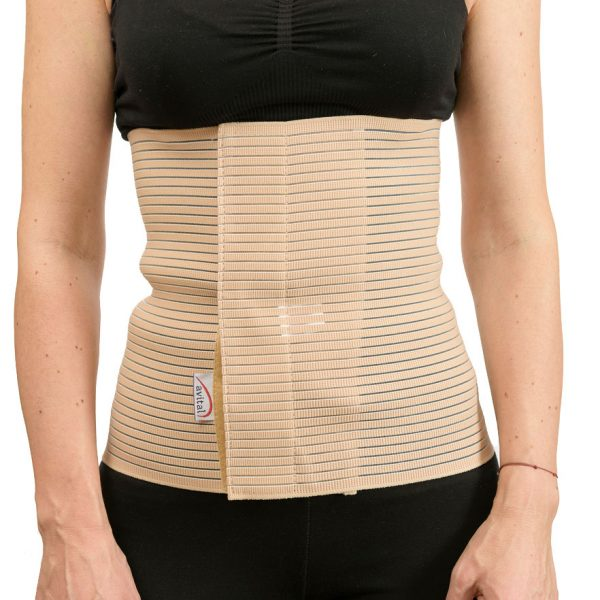 Orteza elastica abdominala pentru imobilizarea toracelui