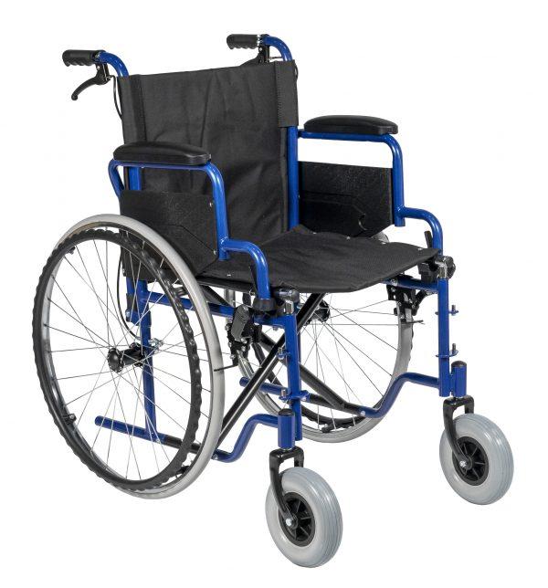 Fotoliu rulant (scaun cu rotile) cu frana manuala