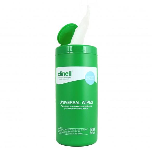 Lavete dezinfectante Clinell Universal TUB 100 buc