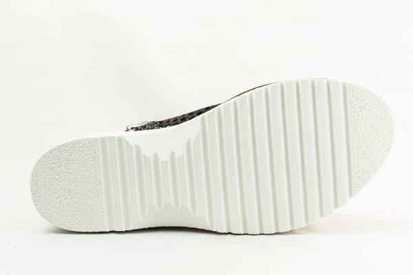 Calzamedi Sandale ortopedice cu perforatii dama - negru
