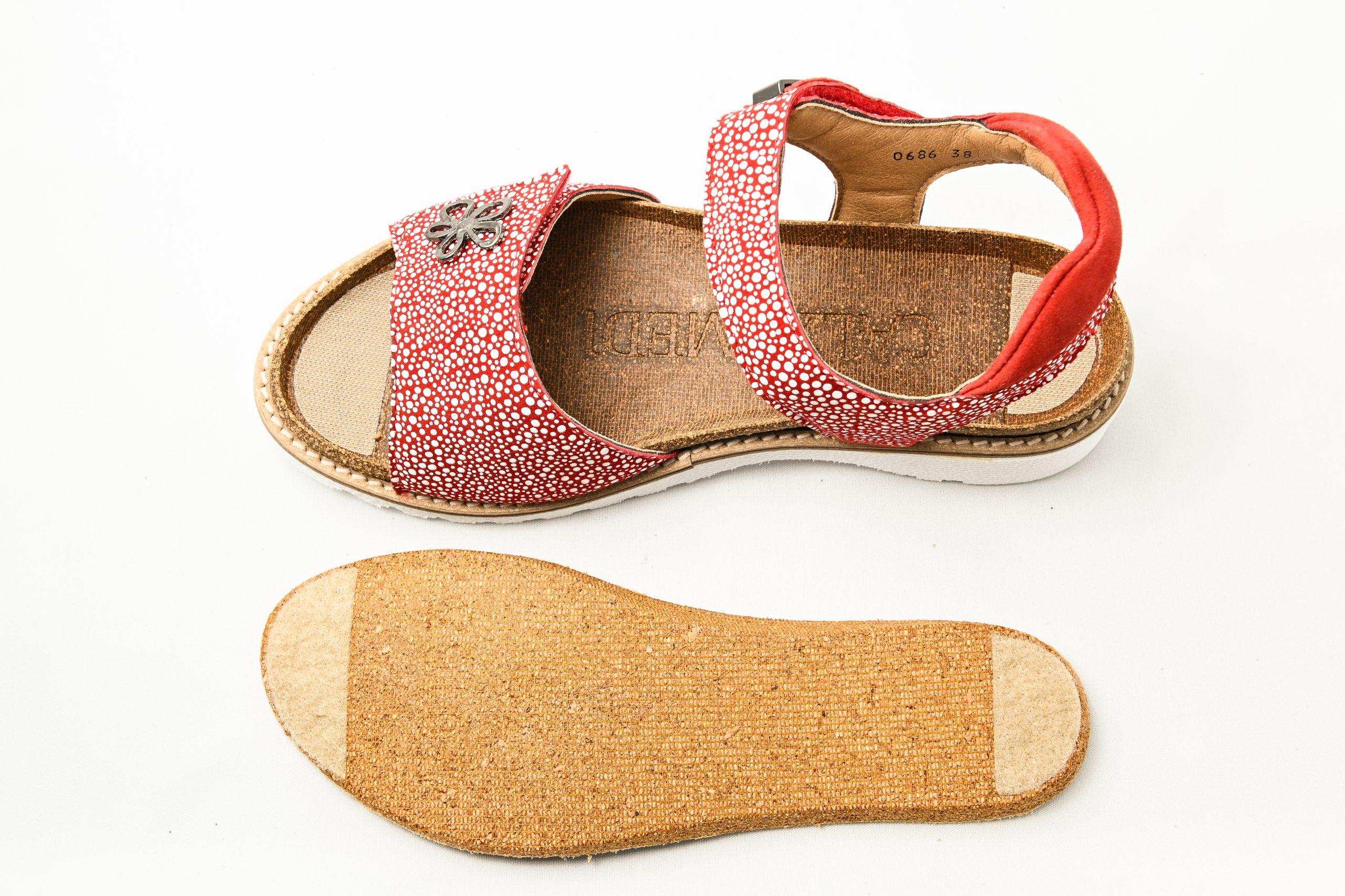 Calzamedi Sandale ortopedice dama - rosu