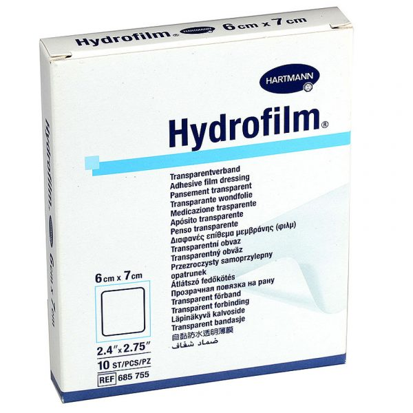 HartMann Hydrofilm 6 x 7 cm, 10buc.