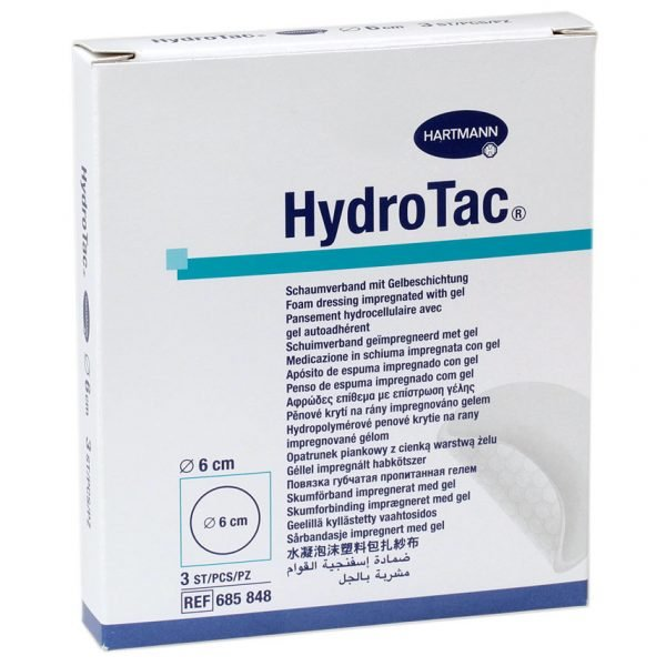 HartMann Hydrotac rotund, diametru 6 cm, 10 buc.
