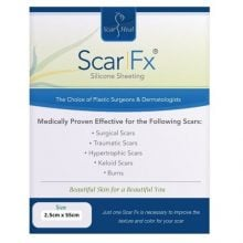 Scar Fx Plasture  siliconic cicatrice  2.5 x 55 cm