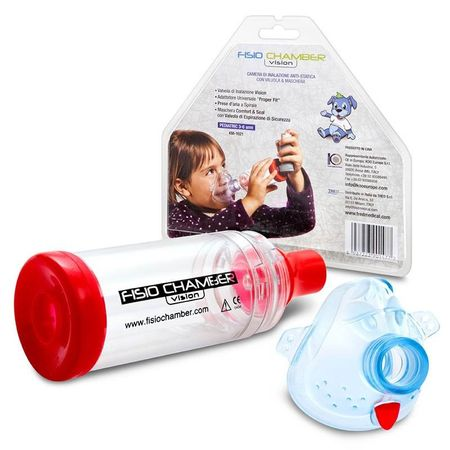 Inhalator portabil Fisio Chamber Standard (adult)