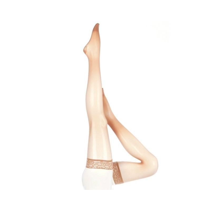 Ciorapi compresivi pana la coapsa Mediven Sheer & Soft, varf inchis