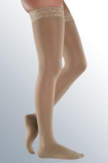 Ciorapi Mediven Elegance pana la coapsa, CCL 1, varf inchis