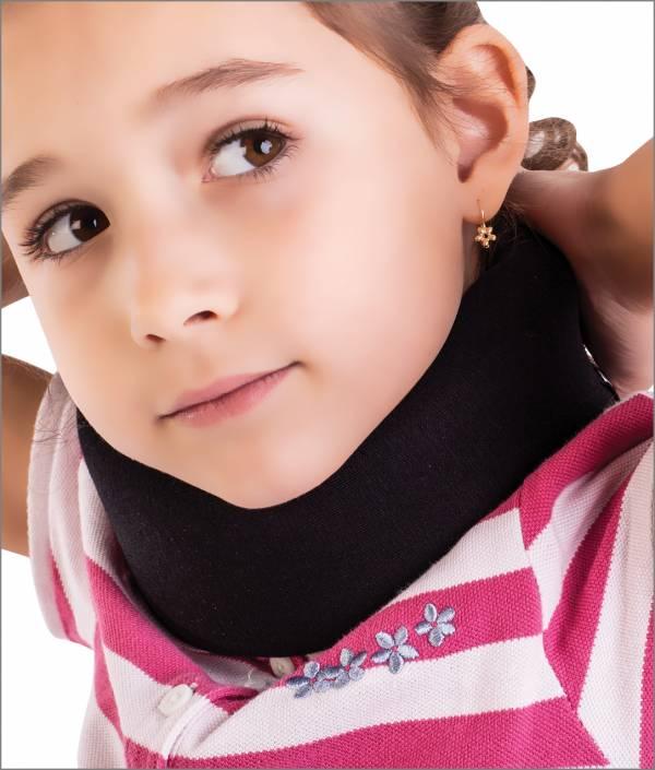 Orteza - guler cervical moale pentru copii