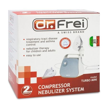 Aparat de aerosoli (nebulizator) Dr. Frei Turbo Mini