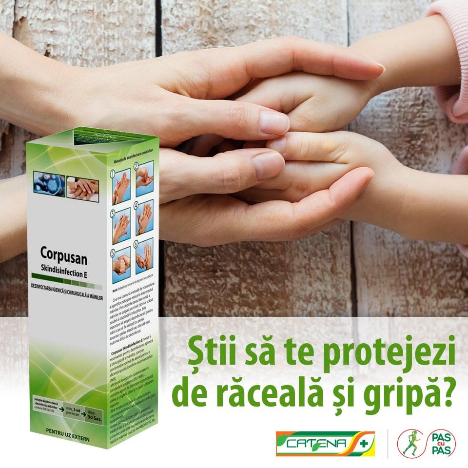 Cum aleg un dezinfectant pentru maini?