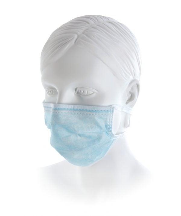 Masti medicale pentru protectie cu strat interior de filtrare