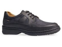 Pantofi ortopedici barbati, talpa cusuta, negru