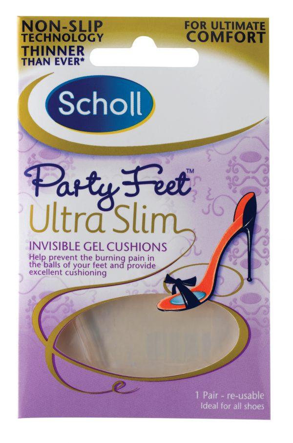 Scholl Party Feet Branturi din gel transparent 1/2