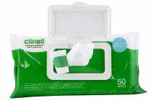 Lavete dezinfectante Clinell 50 buc