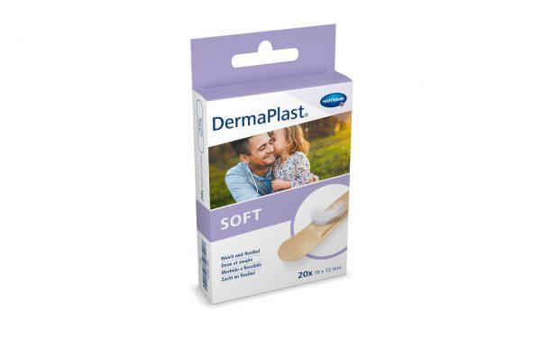 Plasturi adezivi HartMann DermaPlast Soft 19x72 mm