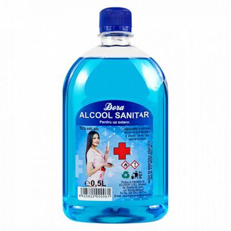 Alcool sanitar Dora 70% x 0.5L