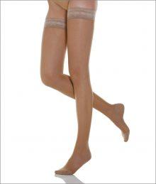 Ciorapi compresivi pana la coapsa pentru femei, 12-17 mmHg