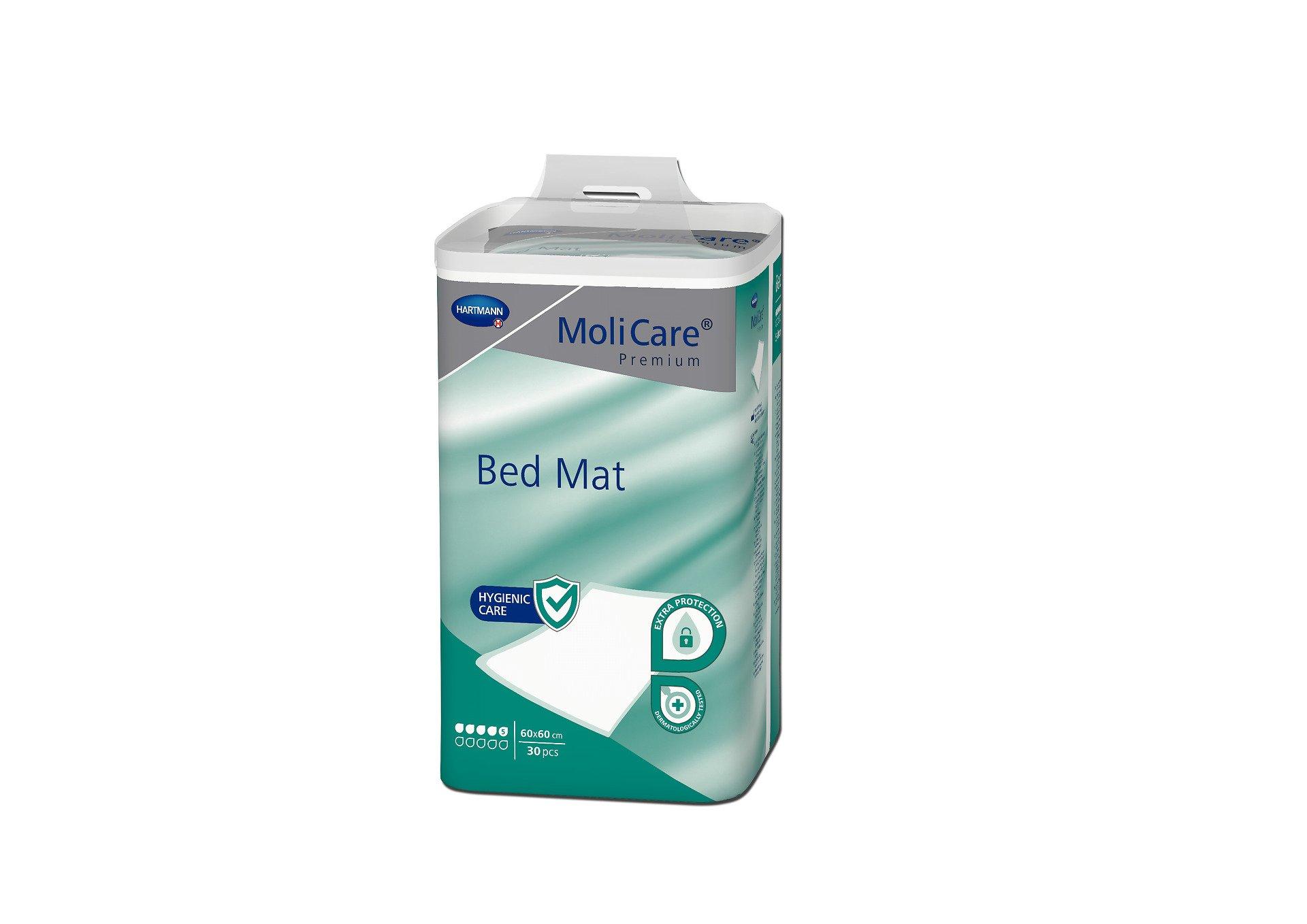MoliCare® Premium Bed Mat Aleze 5 picaturi, 60x60cm x 30 buc