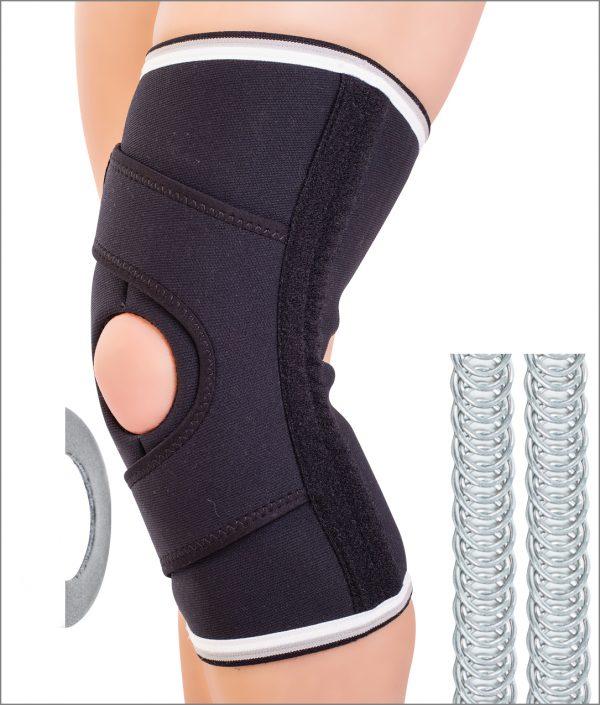 Orteza de genunchi cu sustinere laterala