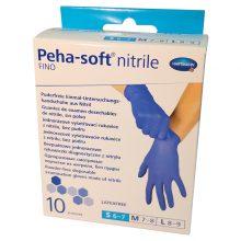 Manusi HartMann Peha-Soft Nitrile FINO S x 10 buc/cutie