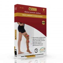 Ciorapi compresivi medicali pana la coapsa VARILEGS (18-22 MmHg), bej