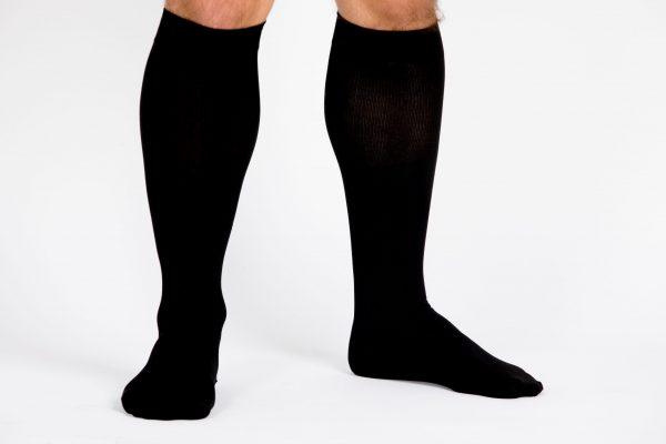 Ciorapi compresivi medicali pentru barbati VARILEGS (14-18 MmHg), negru