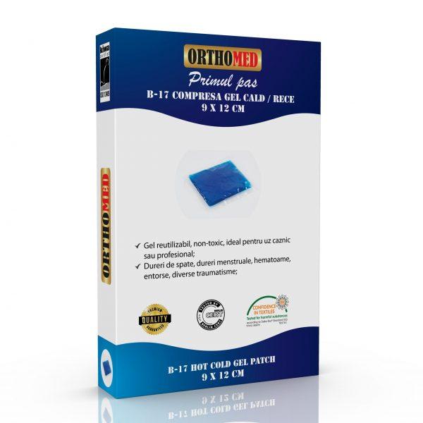 Compresa gel cald/rece Orthomed, 9 x 12 cm