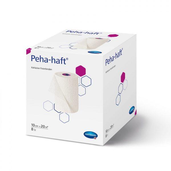 Fasa elastica autoadeziva HartMann Peha-Haft rosu 10 cm x 20 m