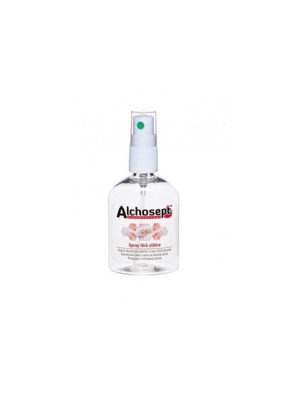 ALCHOSEPT - Spray dezinfectant maini si tegumente cu 85% alcool x 40 ml