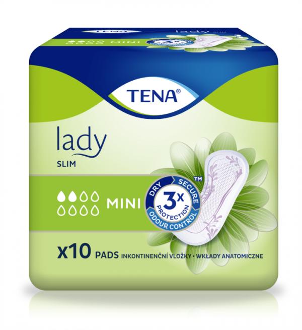 Absorbante pentru incontinenta urinara TENA Lady Slim Mini x 10 buc