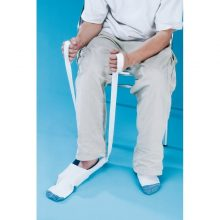 Dispozitiv pentru incaltat ciorapi si sosete