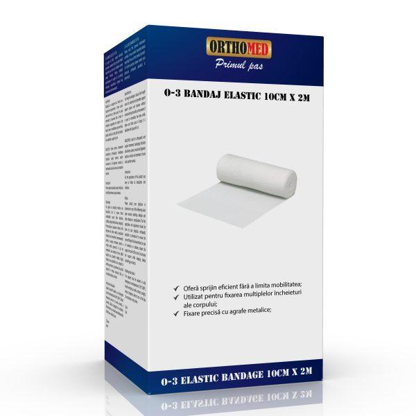 Bandaj elastic Orthomed 10cm x 2m