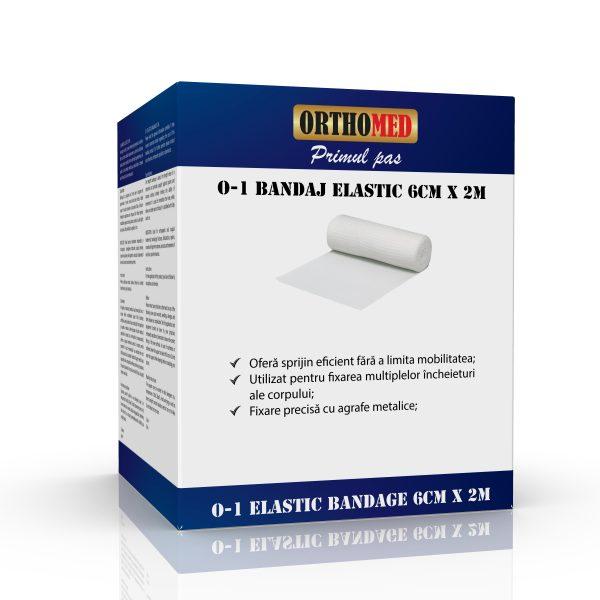 Bandaj elastic Orthomed 6cm x 2m