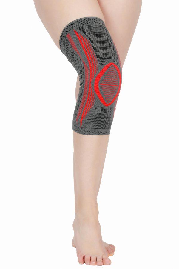 Orteza genunchi cu silicon si sustinere patelara Orthomed