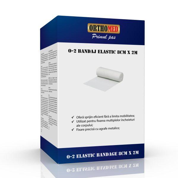 Bandaj elastic Orthomed 8cm x 2m