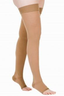 Ciorapi compresivi medicali pana la coapsa Varilegs (22-27 MmHG), bej