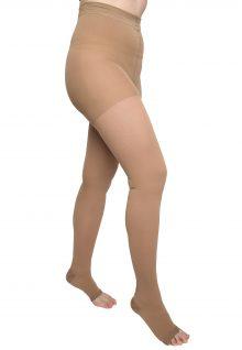 Ciorapi compresivi medicali tip dres Varilegs (22 -27 MmHG), bej