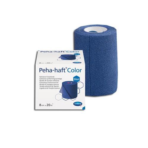 HartMann Peha-haft color albastru 6 cm x 20 m